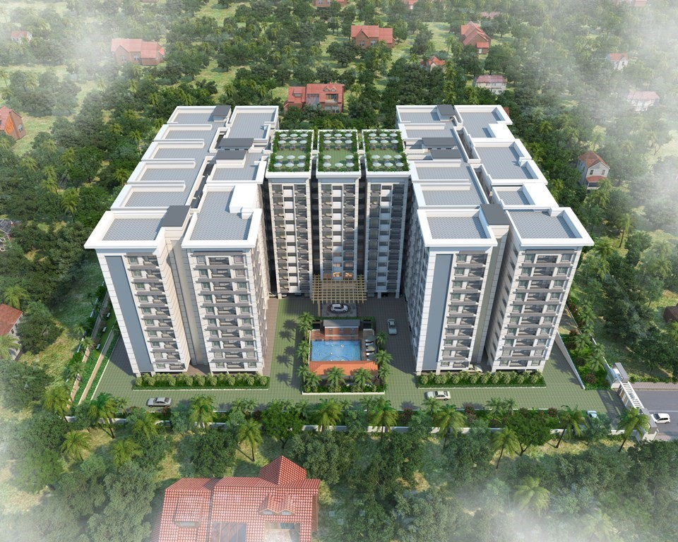 2 BHK and 3 BHK Flats near chrysalis high