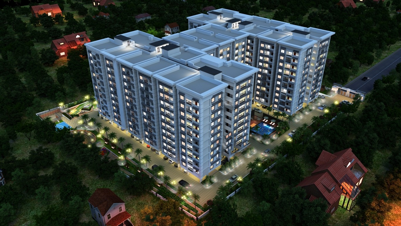2 BHK and 3 BHK Apartments near embassy tech square